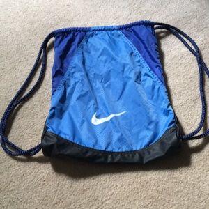 Nike Gym Cinch Bag with Extra Pockets